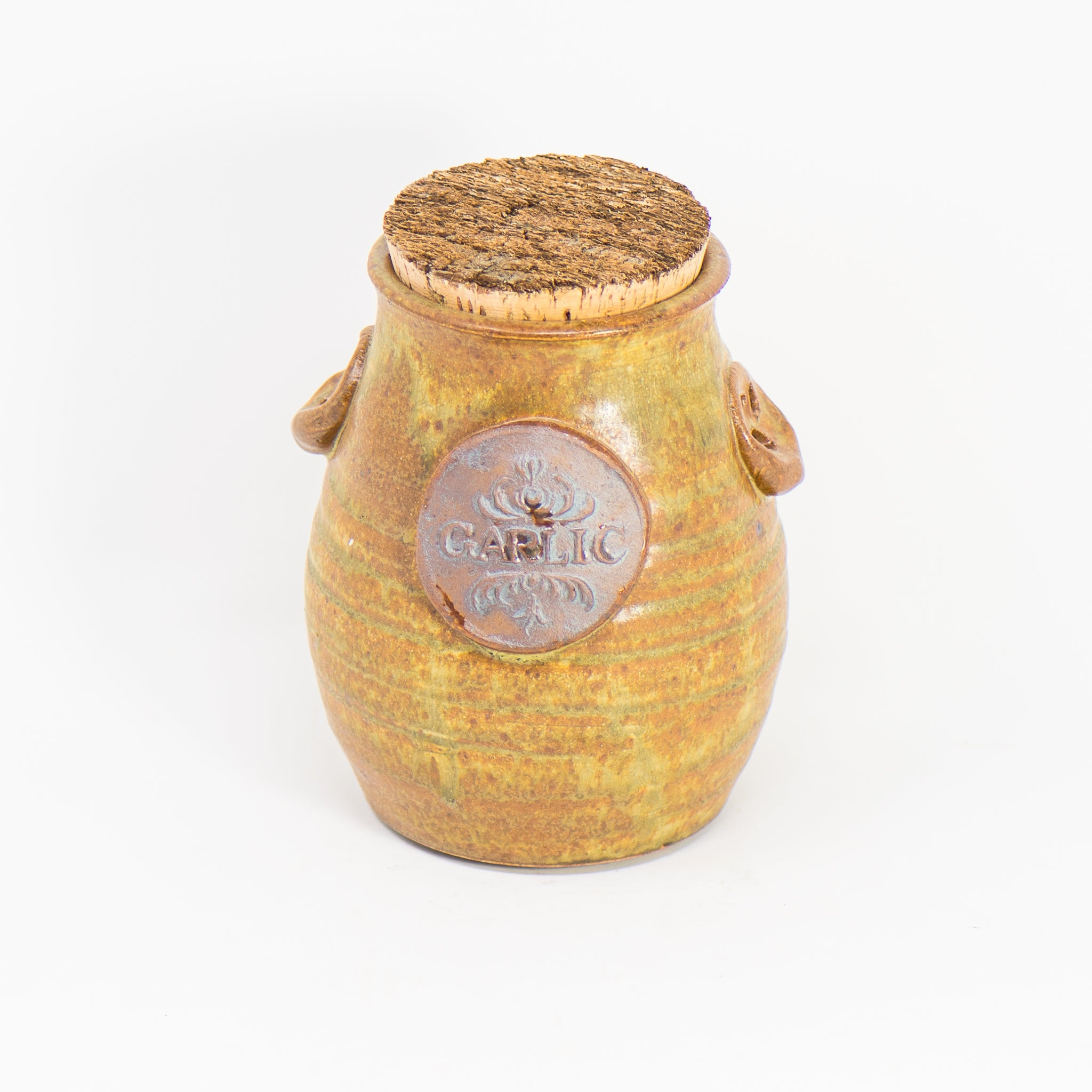 Garlic Cork Jar