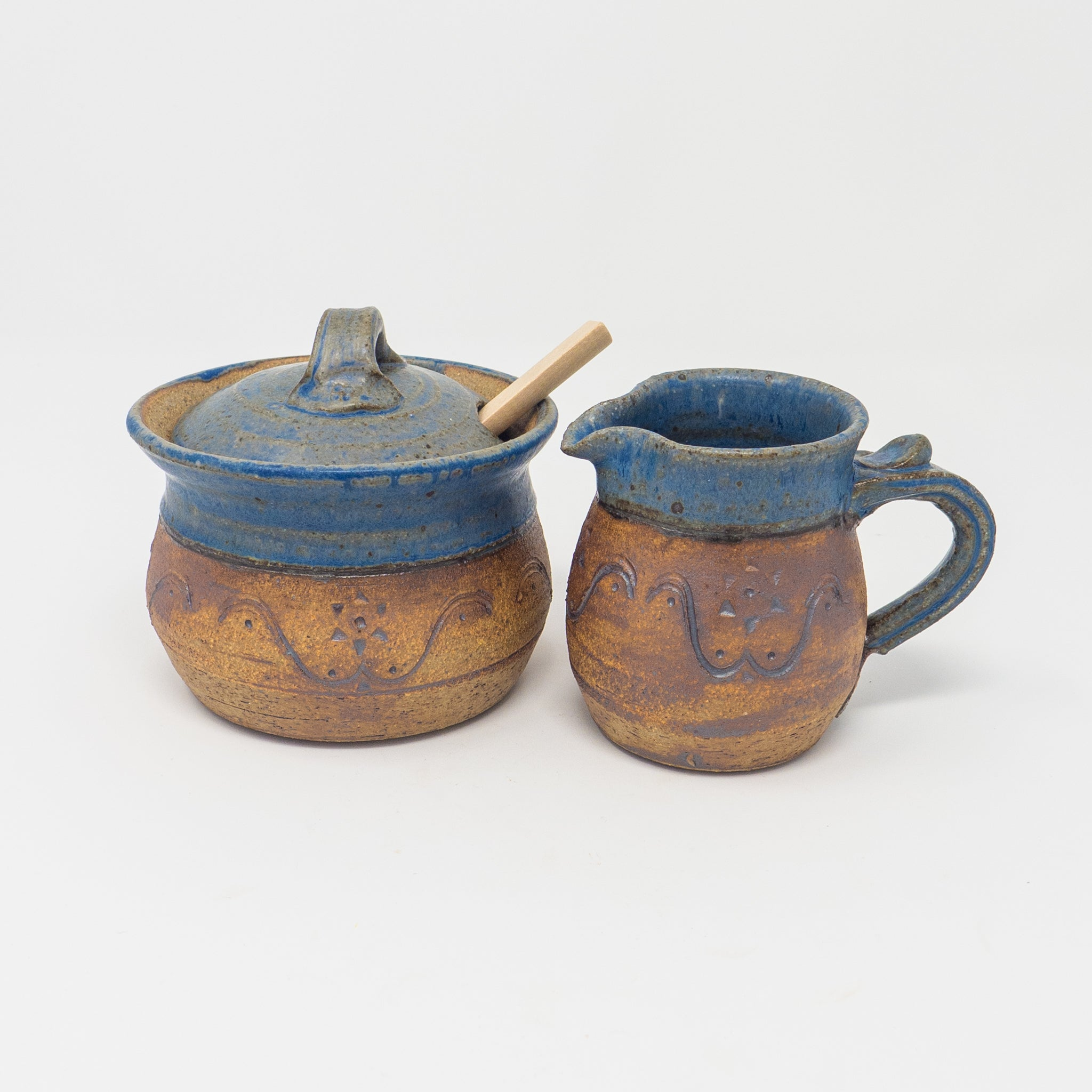 Bergen Sugar and Creamer Set