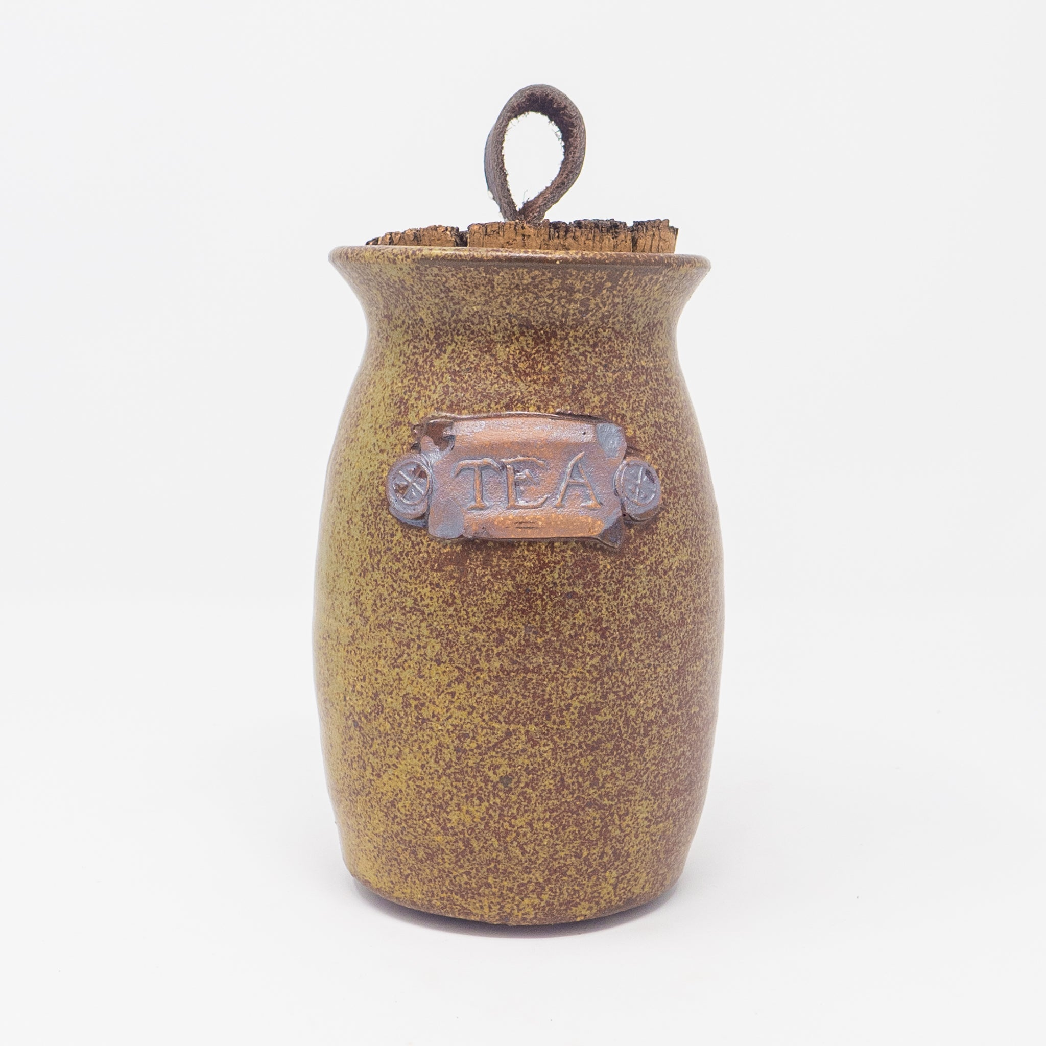 Tea Cork Top Jar