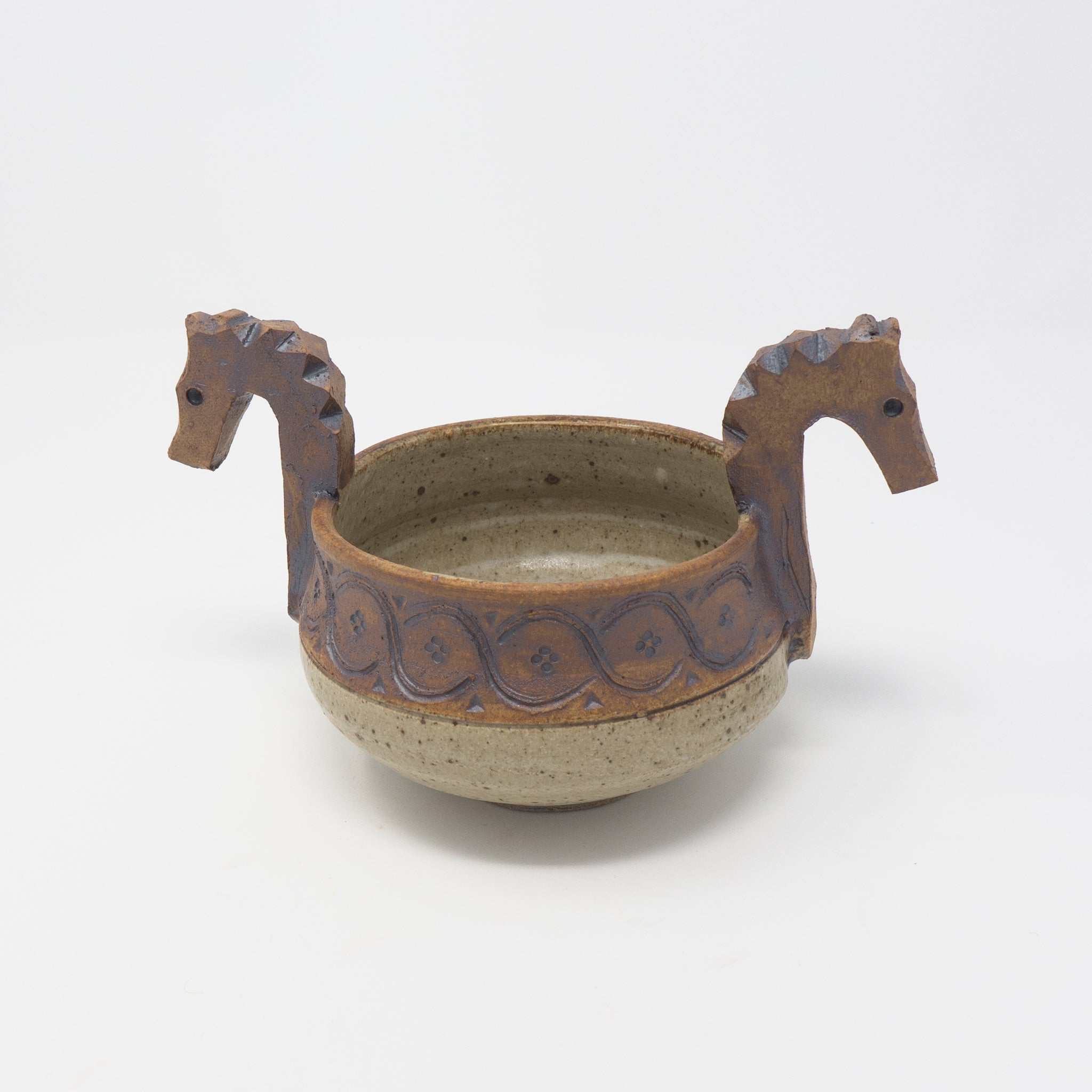 Small Two-Head Ale Bowl