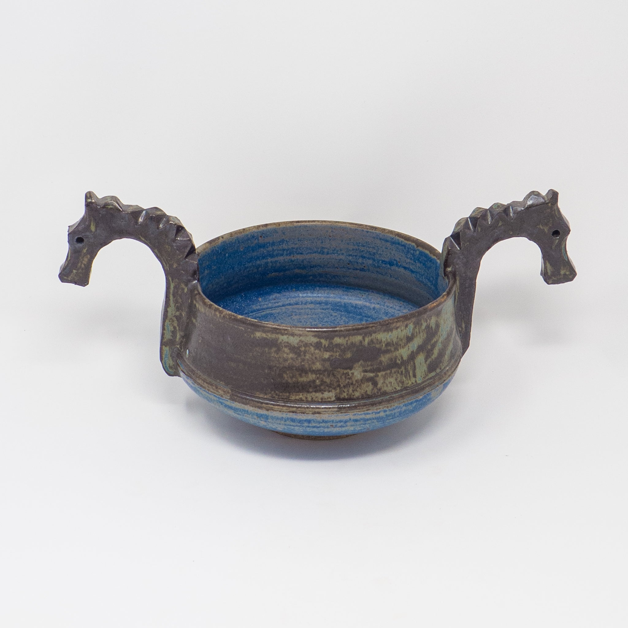 Large Two-Head Ale Bowl