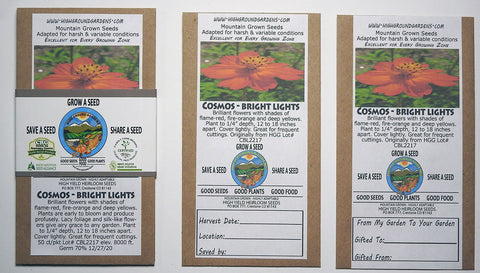 Cosmos - Bright Light Share A Seed 3 Pack
