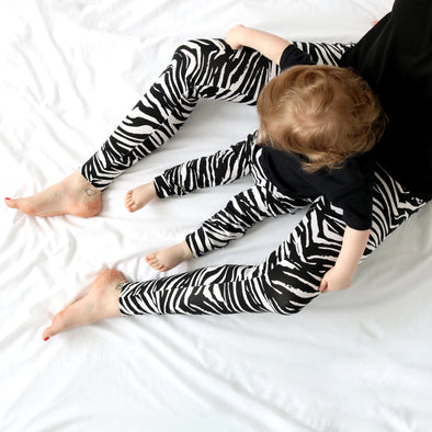 Mama Zebra print Leggings