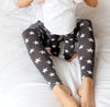 Grey Star Print Child & Baby Leggings - Fred & Noah