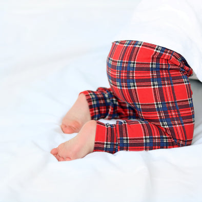 Tartan print Child & Baby Leggings