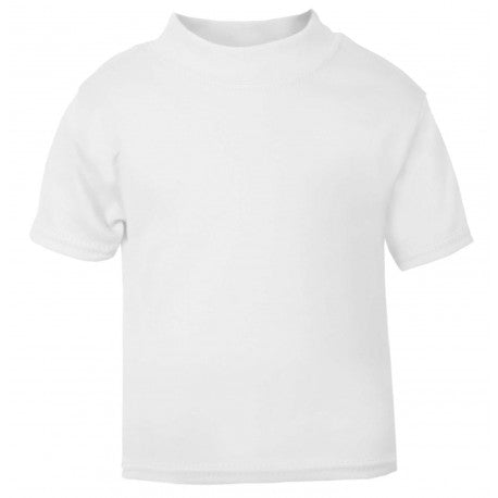 Plain White Child & Baby T shirt