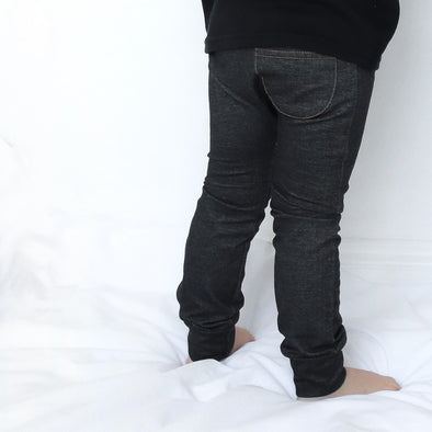 SALE Charcoal Child & Baby cotton Jeggings