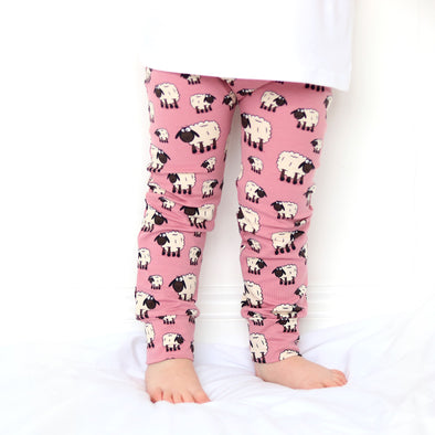 Pink Sheep Child & Baby Leggings