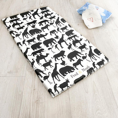 Safari print Changing Mat ( All sizes)