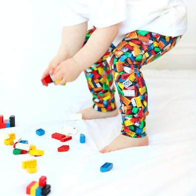 Brick print Child & Baby Leggings