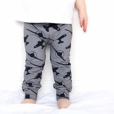 Grey Spitfire Child & Baby Leggings