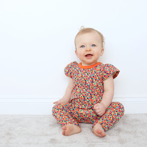 SALE Limited Edition Mosaic playsuit