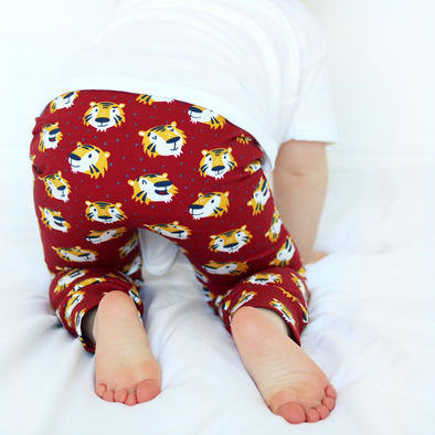 Gerald the Tiger Child & Baby Leggings