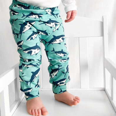 Shark print Child & Baby Leggings