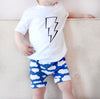 Sale Blue cloud Child & baby Shorts - Fred & Noah