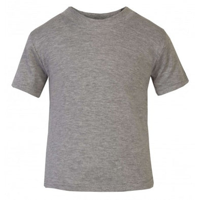 Plain Grey Child & Baby T shirt