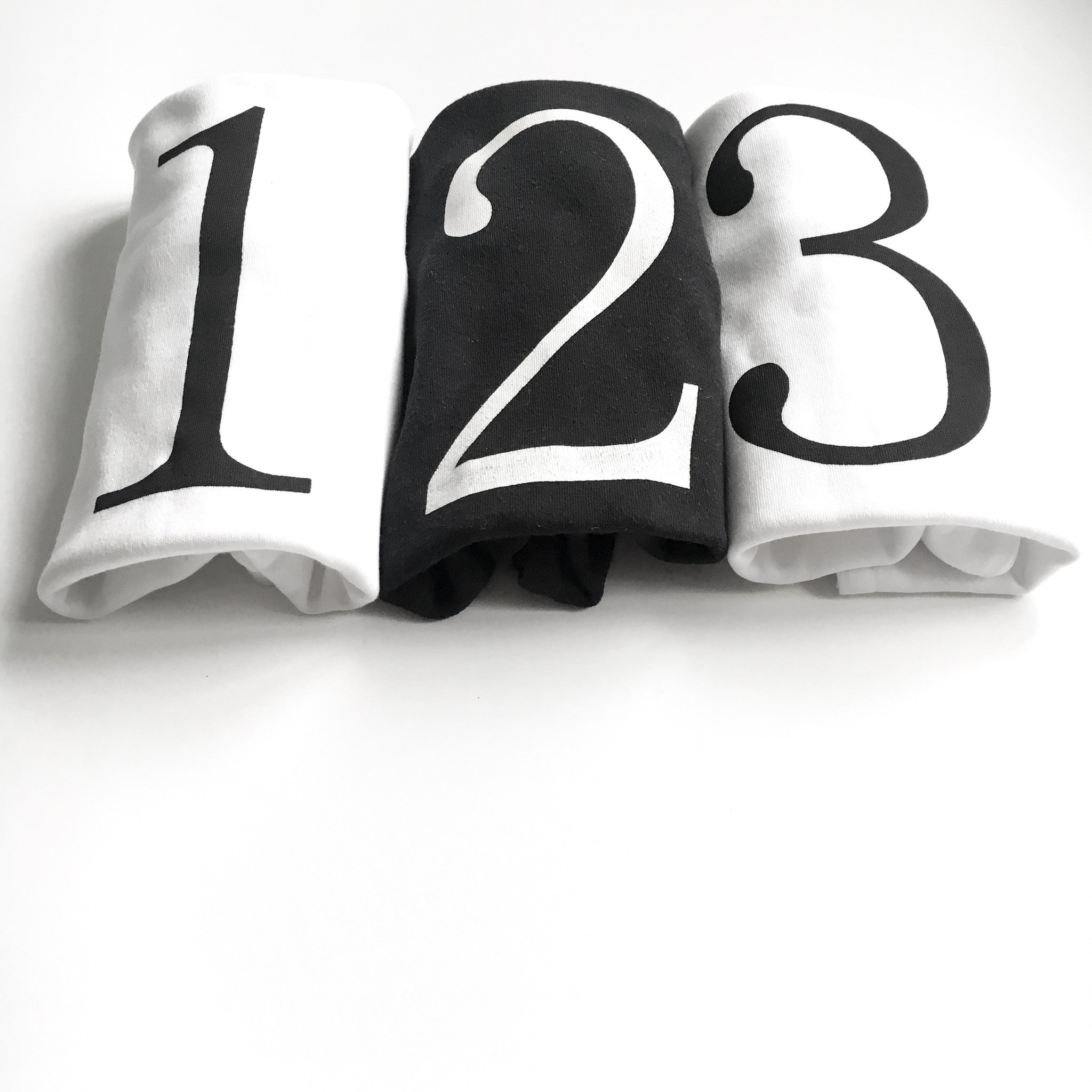 Birthday number 1 T-shirt available in Black , Silver & Gold ink