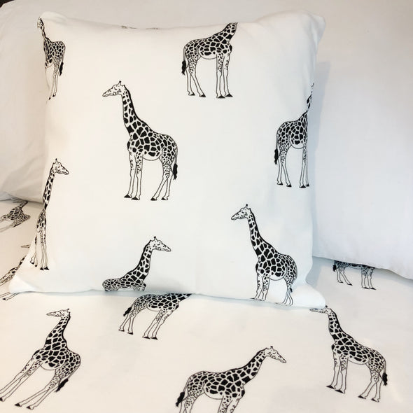 Giraffe Cushion - Fred & Noah