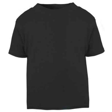 Plain Black Child & Baby T shirt - Fred & Noah