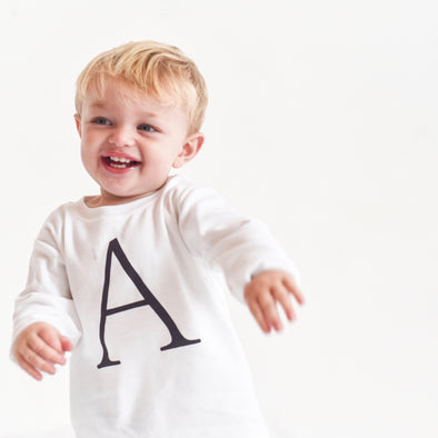 Personalised Letter Top ( All colours) - Fred & Noah