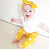 Yellow star Print Baby Leggings - Fred & Noah