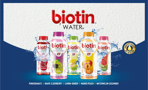 (NEW) Biotin Water - Mango Peach (Coming this Month)