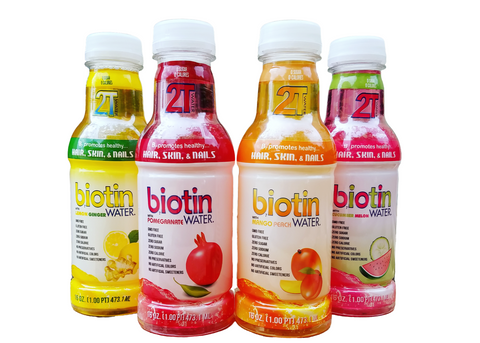 2T Biotin Water - Mixed Combo Case  (Monthly Plan)