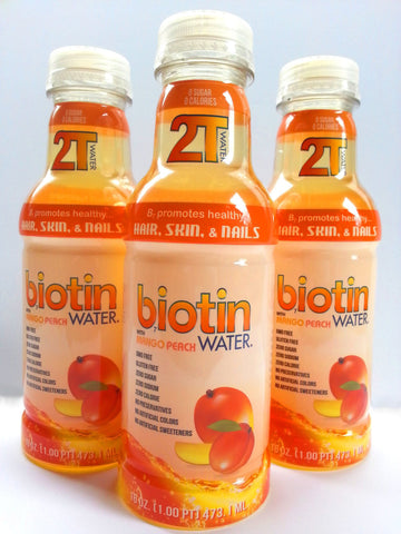 2T Biotin Water - Mango Peach Case