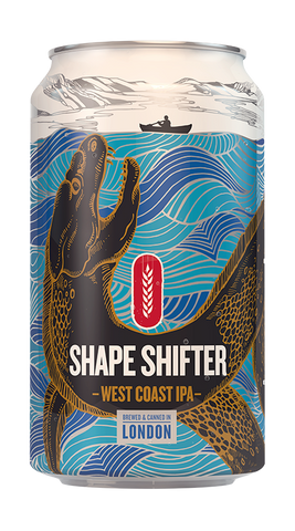 Shape Shifter West Coast IPA 12x330ml Can