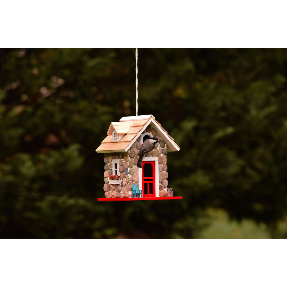 Stone Cottage Birdhouse