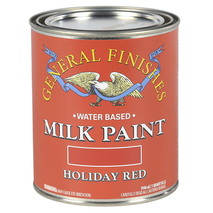 Holiday Red Milk Paint Qt.