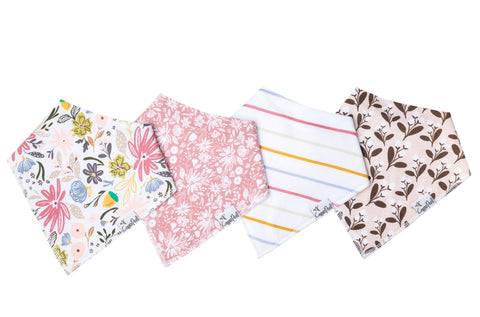 Copper Pearl Baby Bandanna Bibs sets of 4