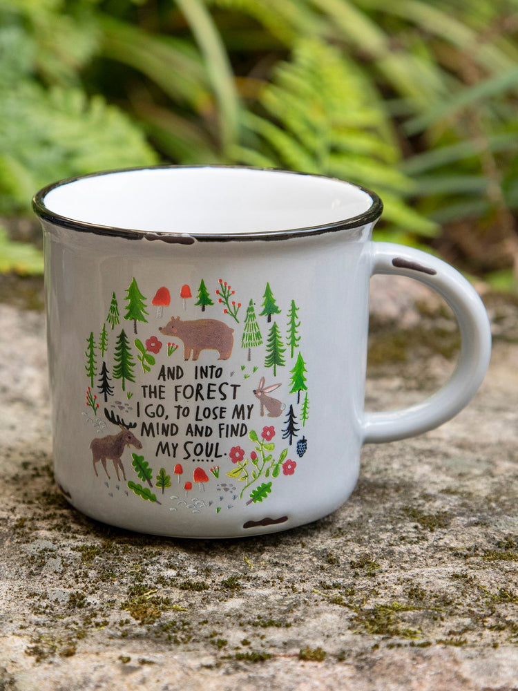 Into The Forest Camp Mug