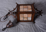 Arts & Crafts Stained Glass Lantern
