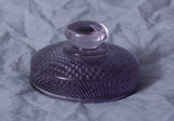 Lavender Glass Paperweight with Knob