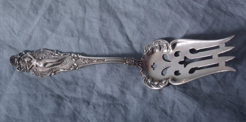 "Watson, Newell Co. Sterling Silver ""Phoebe"" Serving Fork 1895"