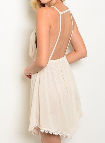 Light Peach Dress