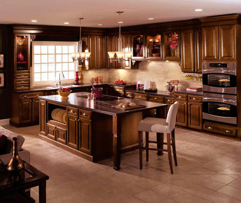 Corbel shown in Aristokraft kitchen