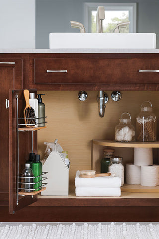 Sink Base SuperCabinet with Tip-out Trays