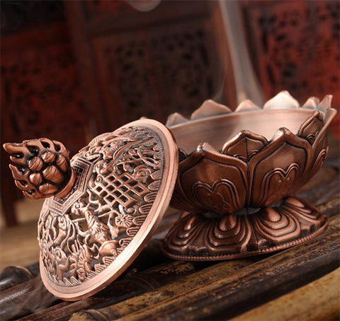 Bronze Copper Incense Burner