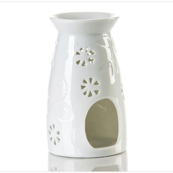 White Holder Oil Burner