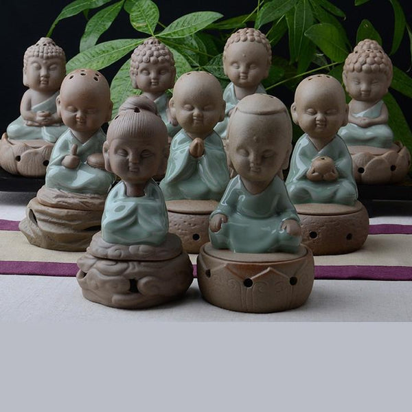 Monk Ornaments Incense Burner