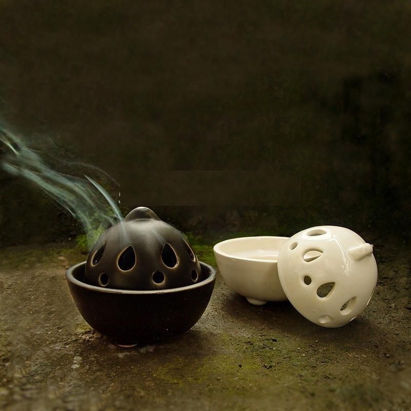 Lotus Tower Incense Burner