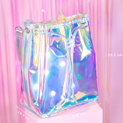 Iridescent Shoulder Bag