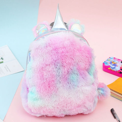 Fur Unicorn Backpack