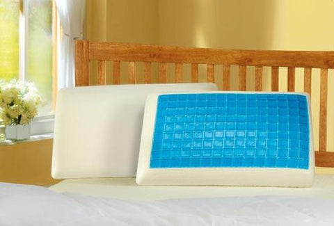 Gel Memory Foam Pillow-With Gel