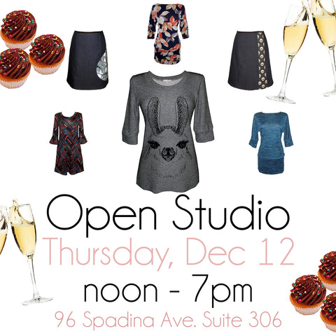 Open Studio/ Party!