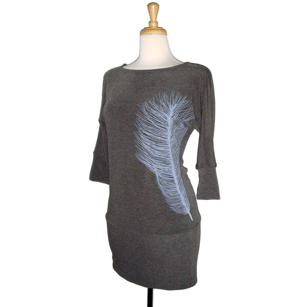 Dania Tunic - Feather - Grey