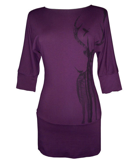 Tunic - Jo the Elk - Purple - Sale