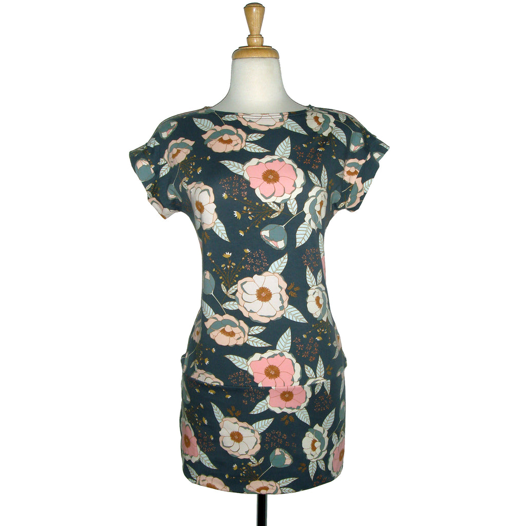 Julia Tunic - Dusty Floral